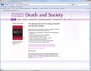 Association of Death and Society